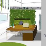 Interiorismo oficina Zona de trabajo (2)