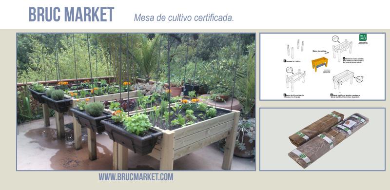 Mesa de Cultivo Brucmarket