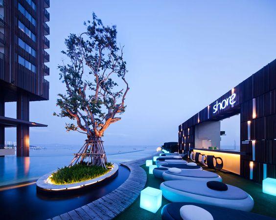 Terraza Hilton Pattaya Hotel Tailandia