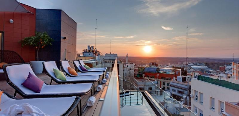 Las mejores terrazas del verano. Terraza Hotel Indigo Madrid