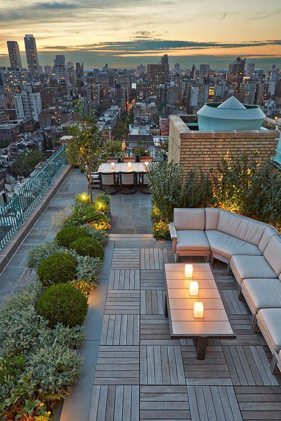 Terraza en Central Park Oeste New  York