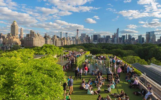 Terraza verde MOMA New York