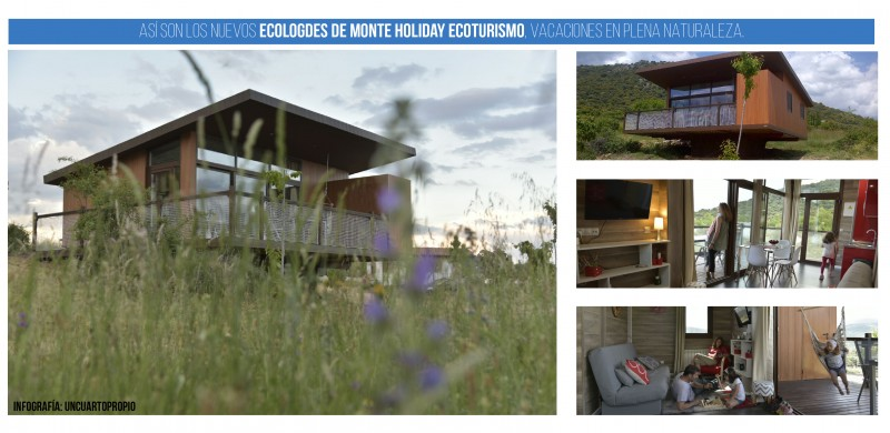 Ecolodges en Monte Holiday Ecoturismo