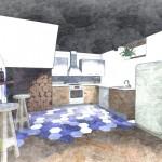 Merendero zona de cocina