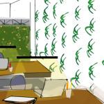 Interiorismo oficina Zona de trabajo