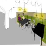 Interiorismo - Zona Privada Comedor