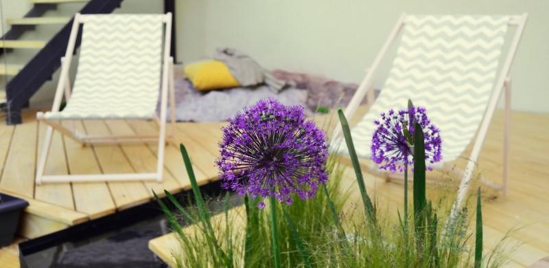 Proyecto de paisajismo para casa rural